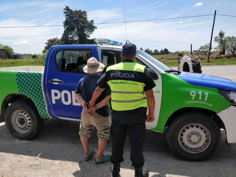 Apuñaló a su pareja, escapaba a Necochea y lo detuvo la Policia - Diario La Vanguardia